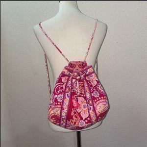 Vera Bradley Floral String Backpack